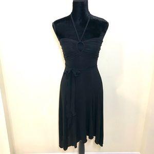 BEBE Ruched Midi Dress!